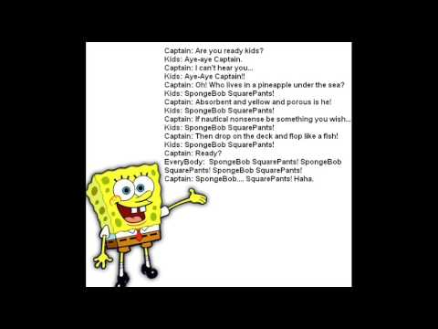 Microsoft Sam Sings SpongeBob Squarepants Theme Song - YouTube