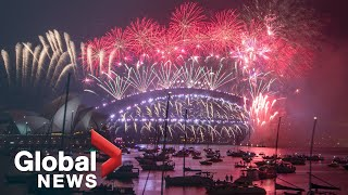 New Year's 2021: Sydney, Australia puts on stunning fireworks display