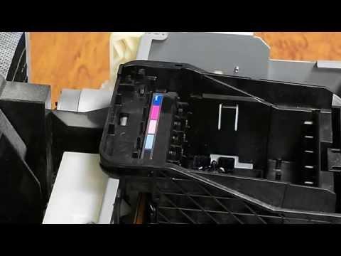 видео: Как снять печатающую головку epson r290, t50, p50, tx650, l800, r270 и прочих