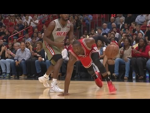 Dwyane Wade Returns to Miami! Chicago Bulls vs Miami Heat 11-10-2016