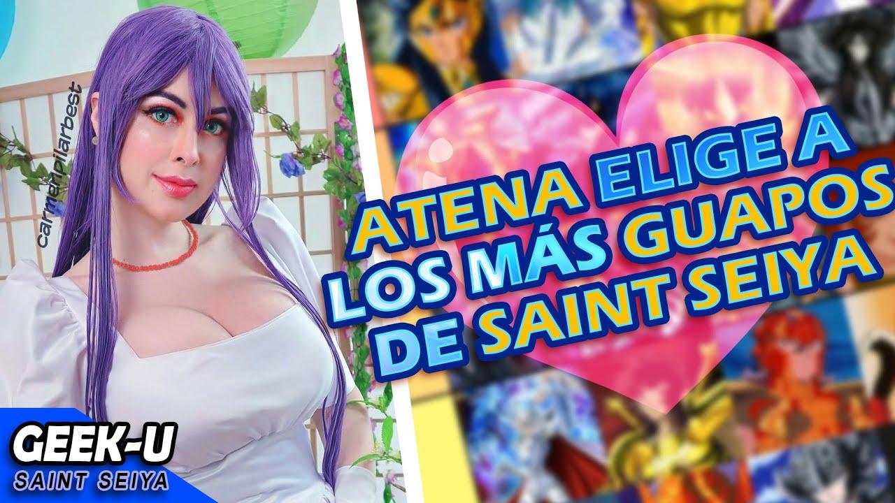 ATENA ELIGE A LOS MÁS GUAPOS DE SAINT SEIYA XD feat. Carmenpilar Best