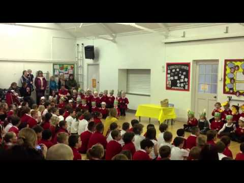 Easter assembly west row primary school