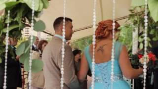 Валентин и Лиза. Свадьба в яхт клубе.