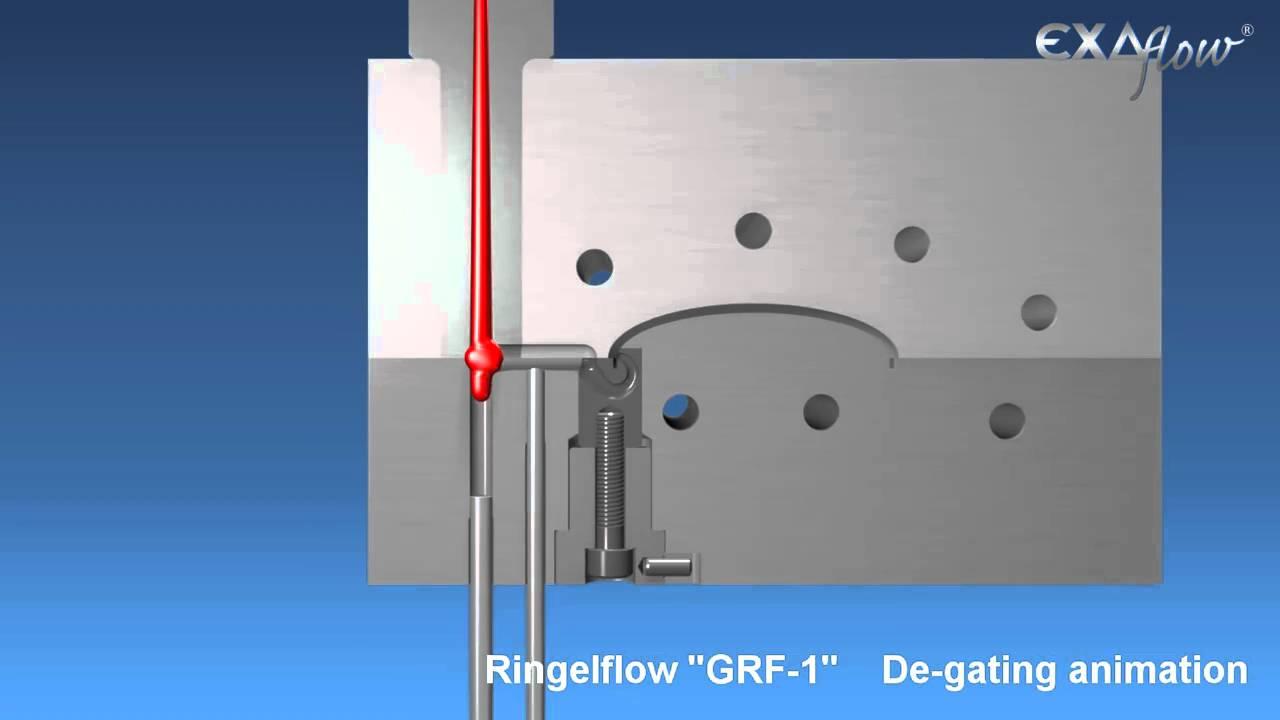 Grf1 Tunnel Gate Animation Youtube