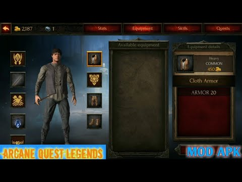 Arcane Quest Legends Apk Mod   Android Game Offline