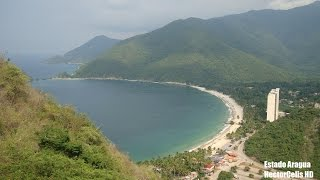 Playas de Aragua . Video HD
