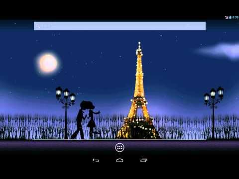 Mon Ami Paris : An Eiffel Tower Live Wallpaper