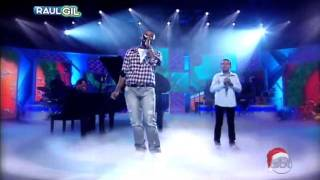 Jotta A  Hugo Rafael   Ento  Natal Happy Xmas   Programa Raul Gil