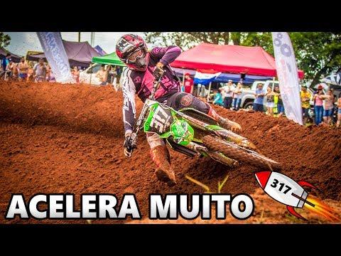 O PILOTO  É UM FOGUETE NA PISTA  ACELERA MUITO (CARLOS EDUARDO #317) ABERTURA COPA MS VELOCROSS 2018