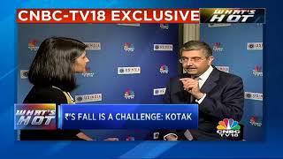Rupee Fall, A Challenge: Uday Kotak | CNBC TV18