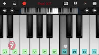 Ek jibone eto prem pabo kothay mobile piano lesson
