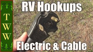 RVing Basics: The Electrical and Cable Hookups