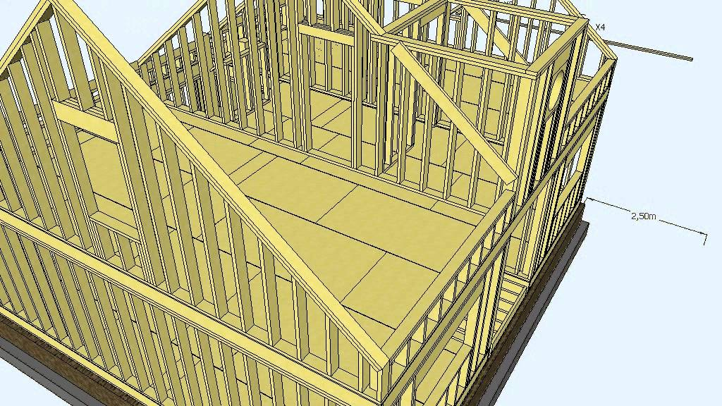 Entramados ligeros de madera escuela de arquitectura for Arquitectura de madera