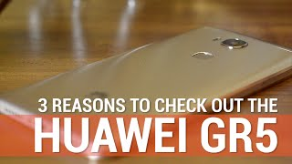 3 Reasons to Check Out the Huawei GR5(Curious about Huawei's new mid-range smartphone, the GR5? Interested but short on time? We got your back - here's 3 awesome things about Huawei's GR5 in ..., 2016-04-08T03:43:37.000Z)