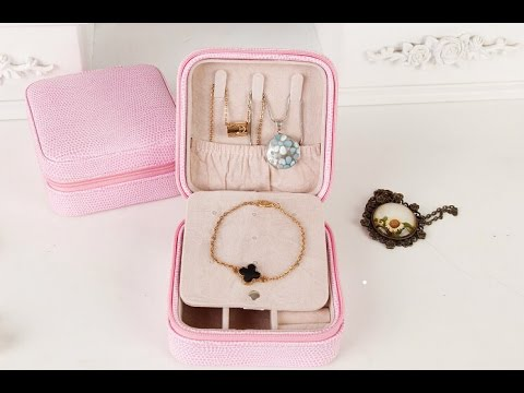Personalized Travel Jewelry Box,Exquisite Gift Box