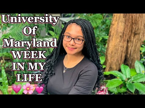 FIRST WEEK OF COLLEGE SPRING SEMESTER | UNIVERSITY OF MARYLAND COLLEGE PARK | VLOG