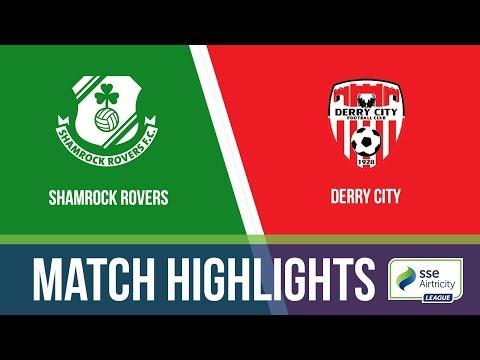 HIGHLIGHTS: Shamrock Rovers 6-1 Derry City