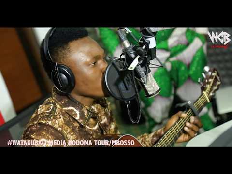 Mbosso - Watakubali Media tour ( A fm Dodoma )part2
