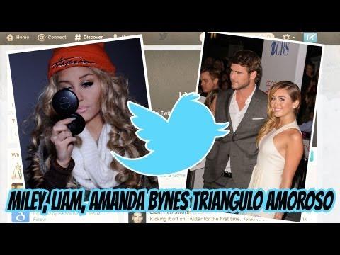 Miley & Liam... y Amanda Bynes Triangulo Amoroso!!!