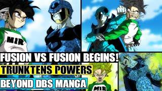 Beyond Dragon Ball Super Rangers: Fusion Vs Fusion Begins! Trunktens Ultimate Power Vs Cell Jr!