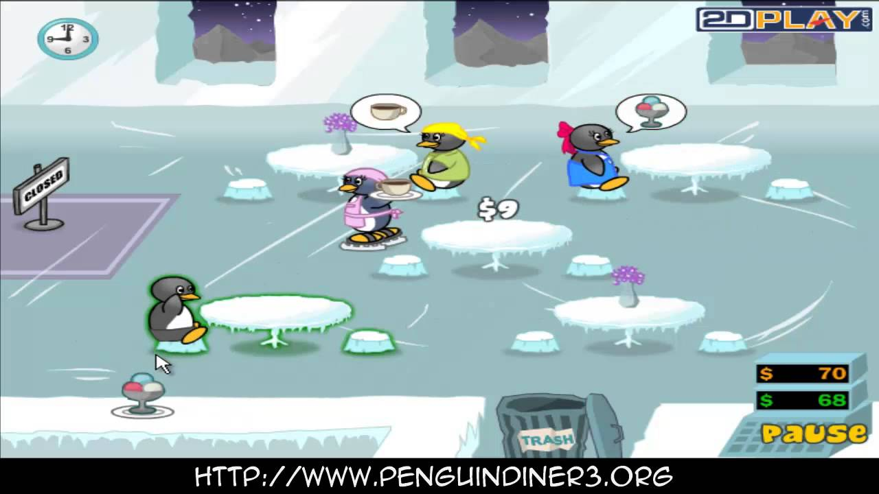 Penguins Diner 3