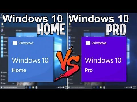 Cual Es El Mejor Windows 10 Pro O Windows 10 Home / El Mas Rapido / Rendimiento / Diferencias