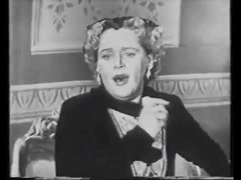 ELEANOR STEBER SINGS   MARRIAGE OF FIGARO ARIAS 1954 KINESCO