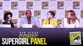 SUPERGIRL Full Panel San Diego Comic Con 2018