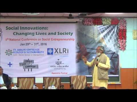 8th NCSE @ XLRI -  Prof Anil Gupta (NIF, Honey Bee Network) - Q&A Session