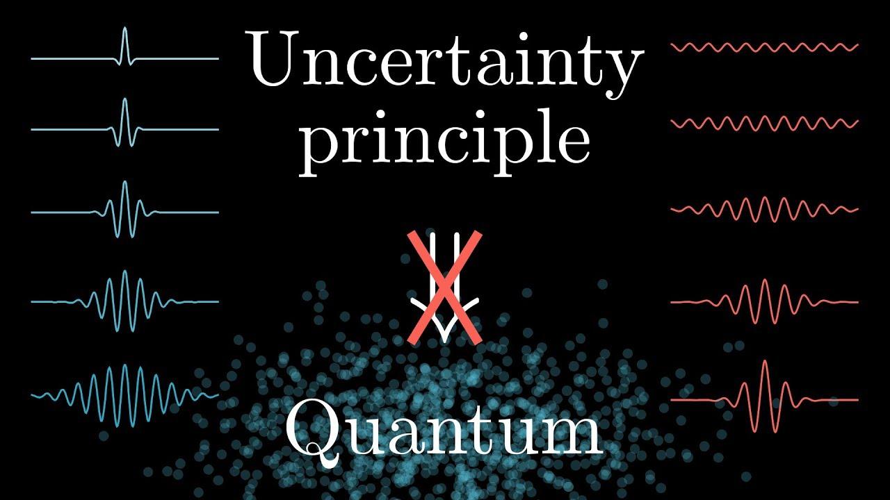 Uncertainty principle?  It's not about quantum.