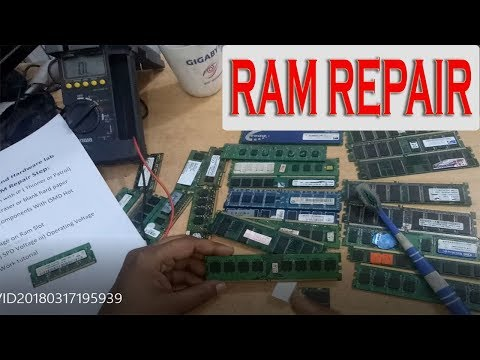 How to Repair Laptop Desktop RAM | Bangla tutorial