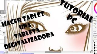 Tutorial:Convertir tablet en tableta digitalizadora 2-Otra alternativa