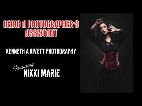 Being an assistant at a photoshoot: Kenneth A Kivett Photography Studio