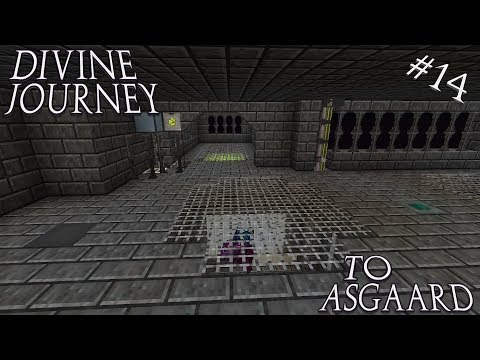 Minecraft 1.7.10 Divine Journey Ep 14: Controlled Mob System