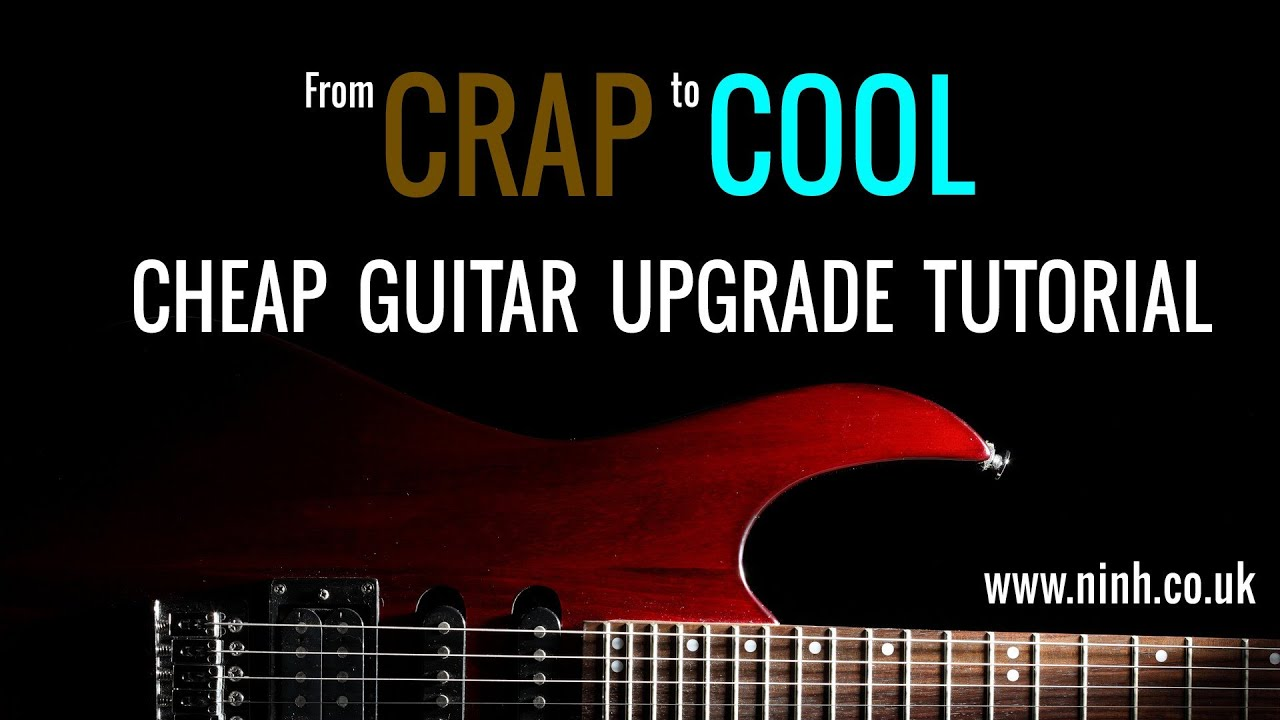 cheap guitar upgrade how to turn crap into cool yamaha pacifica