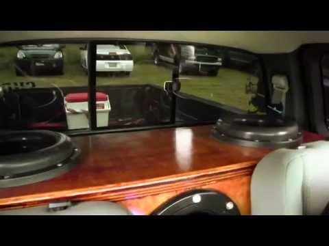 Subwoofer for pickup truck
