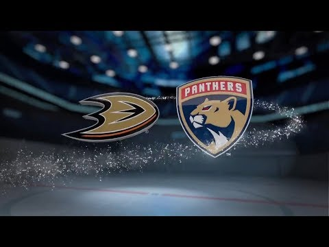 Anaheim Ducks vs Florida Panthers - October 26, 2017 | Game Highlights | NHL 2017/18 Обзор