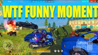 Monster truck Vs free fire vehicle||WTF moment in Free fire|| Free fire funny match || run gaming