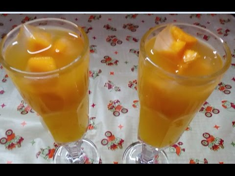Delicious Mango Rasna Juice