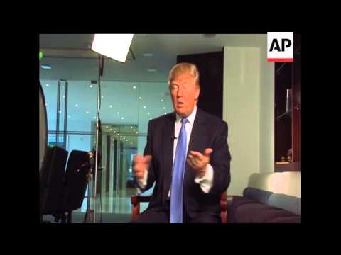 In an exclusive interview with Associated Press, real estate mogul Donald Trump suggested that Presi