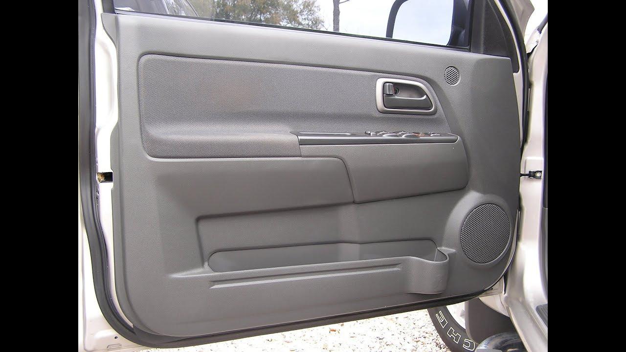 Chevrolet Colorado Speaker Removal Front Door Youtube