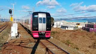 名鉄2200系船町駅通過