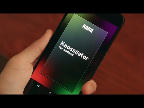 KORG Kaossilator for Android - Instrumental experience on Android device