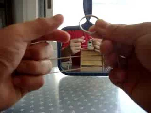 Ring On Rubber Band Revealed! simple magic