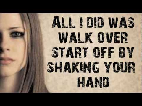Unwanted - Avril Lavigne Lyrics[HD]