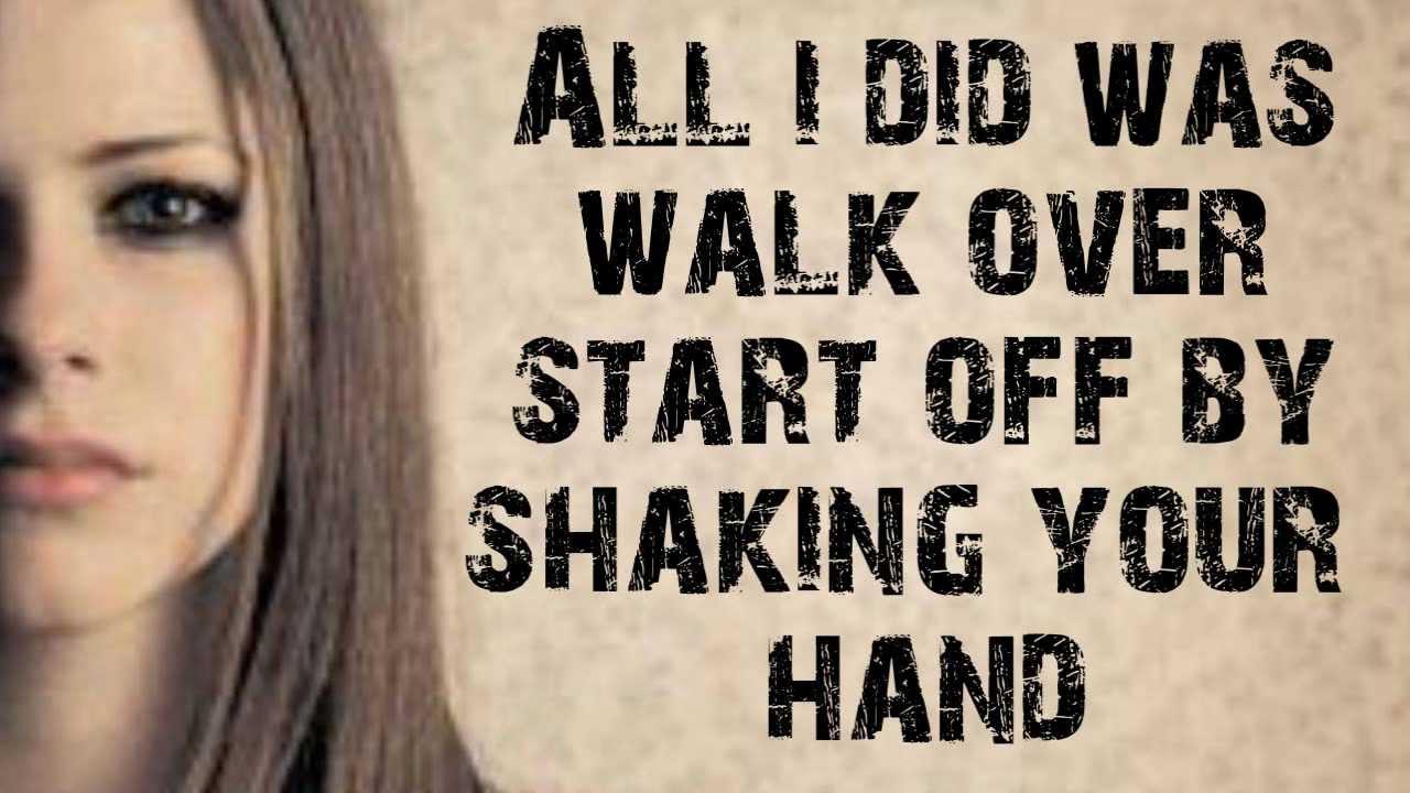 Unwanted - Avril Lavigne Lyrics[HD] - YouTube Avril Lavigne Lyrics