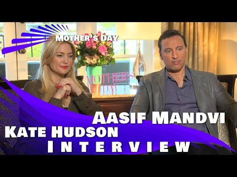Mother's Day: Kate Hudson and Aasif Mandvi Interview