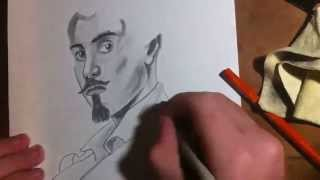 Gustavo Becquer drawing