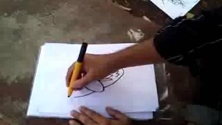 Anu.C.J Machen Karikaturen von Führungskräften
