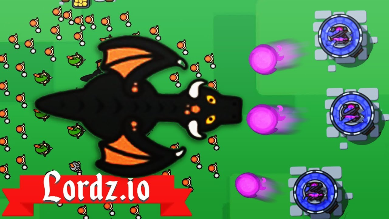 NEW MAGE TOWERS DESTROY DRAGON ARMY! - Lordz.io Gameplay ...  NEW MAGE TOWERS...